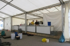 Aufbau Musikfest 2013