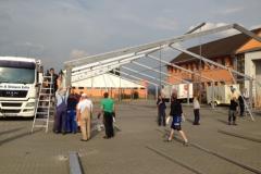 Aufbau Musikfest 2014