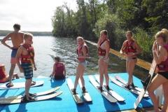 Ausflug Wasserski 2016
