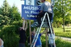 Kunos (Schilder Musikfest) aufstellen 2012